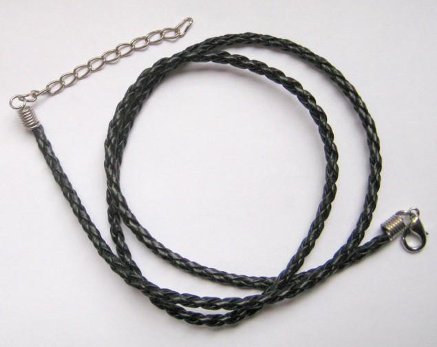 Кожаный шнурок на шею своими руками 49