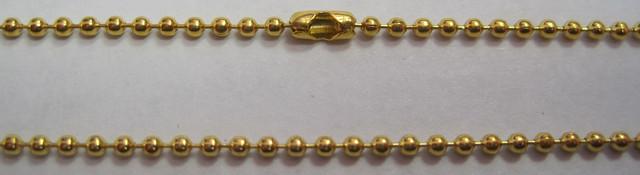 цепочка с шариками золотая цена
